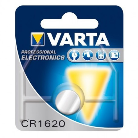 Varta - Varta Professional Electronics CR1620 6620 70mAh 3V Button cell battery - Button cells - BS076-CB