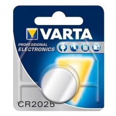 Varta Professional Electronics CR2025 6025 3V 170mAh button cell battery