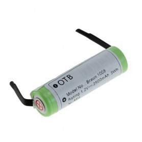 OTB - Battery for Braun Philips (HX5350) 1,2V NiMH 2500mAh - Electronics batteries - ON1684 www.NedRo.us