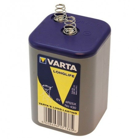 Varta - Varta Batterie 430 / 4R25X 6V Blockbatterie ON1686 - Size C D 4.5V XL - ON1686