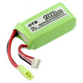 OTB - Battery for Parrot AR.Drone Li-Polymer 1000mAh - Electronics batteries - ON1695 www.NedRo.us