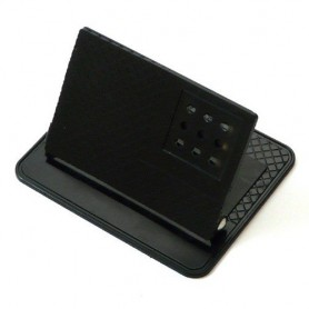 OTB, Non-slip Mat and Bracket with angle Black 12 x 9.8cm, Other telephone holders, ON1189, EtronixCenter.com