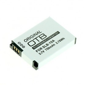 OTB - Battery for Samsung SLB-10A / JVC BN-VH105 750mAh - Samsung photo-video batteries - ON1760 www.NedRo.us