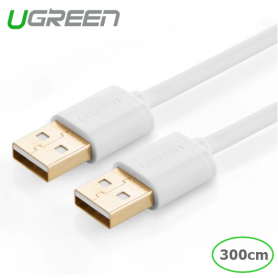 UGREEN, USB 2.0 A Male to A Male Cable, USB to USB cables, UG214-CB