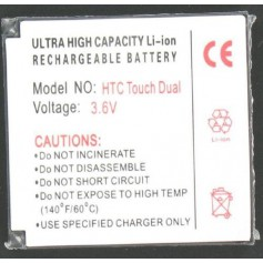 Oem - Battery For The HTC Touch Dual Li-Ion Slim P024 - HTC phone batteries - P024