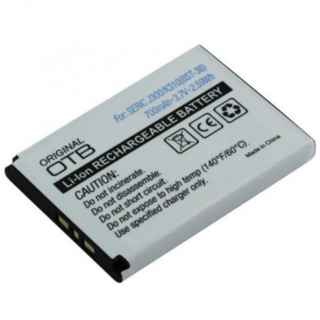 NedRo - Battery for Sony Ericsson BST-36 Li-Ion ON105 - Sony phone batteries - ON105 www.NedRo.us