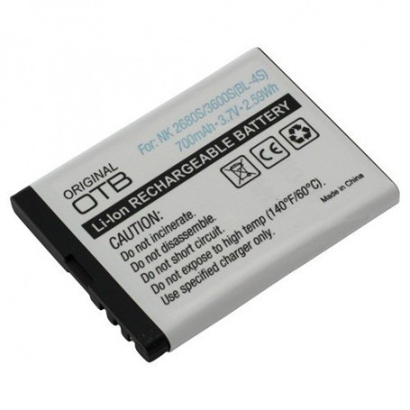 NedRo, Battery for Nokia BL-4S Li-Ion ON159, Nokia phone batteries, ON159, EtronixCenter.com