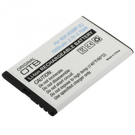 Oem - Battery for Nokia 603 / Asha 303 / Lumia 610 / Lumia 710 ON166 - Nokia phone batteries - ON166