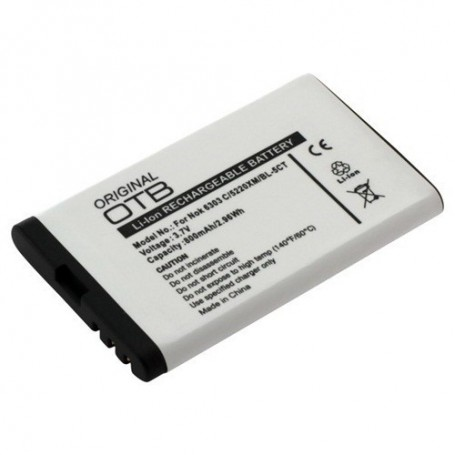 Oem - Battery for Nokia BL-5CT Li-Ion ON182 - Nokia phone batteries - ON182