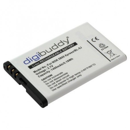 NedRo, Battery for Nokia 5800 Xpress/N900/X6/C3 (BL-5J) ON203, Nokia phone batteries, ON203, EtronixCenter.com