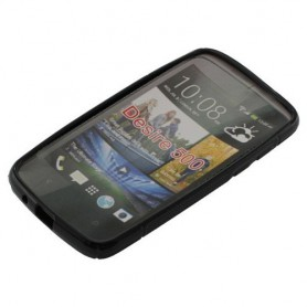 OTB, TPU Case for HTC Desire 500, HTC phone cases, ON627-CB, EtronixCenter.com