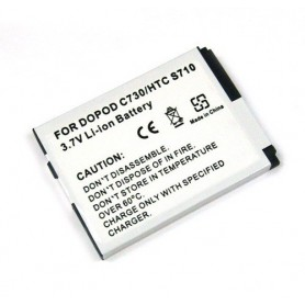 OTB, Battery For HTC S710/S730/VDA5 (BA S180) Li-Ion ON792, HTC phone batteries, ON792, EtronixCenter.com