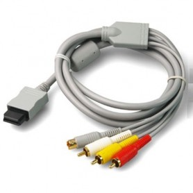NedRo, S-Video AV + RCA (composite) cable for Nintendo Wii 1.8m YGN576, Nintendo Wii, YGN576, EtronixCenter.com