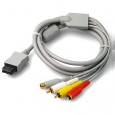 unbranded, S-Video AV + RCA (composite) cable for Nintendo Wii 1.8m YGN576, Nintendo Wii, YGN576
