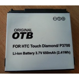 OTB, Battery For HTC Touch Diamond (BA S270) Li-Ion slim, HTC phone batteries, ON957, EtronixCenter.com