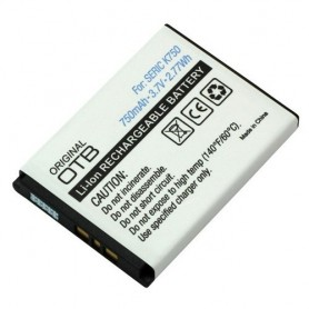 NedRo, Battery for Sony Ericsson BST-37 750mAh ON2551, Sony phone batteries, ON2551, EtronixCenter.com
