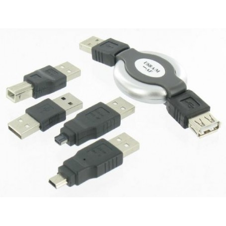 Unbranded - 5-piece Kit for Notebook USB PC Camera PDA MP3 Mobile - USB adapters - YPU003 www.NedRo.us