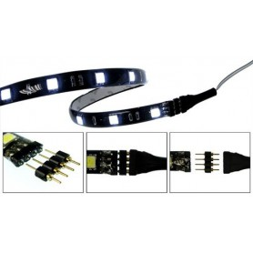 NedRo - 10x 4pin M-M 5050 RGB LED Strip Connector Solderless - LED connectors - AL074