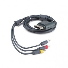 unbranded, AV cable (3 x RCA) for XBOX 360, Xbox 360 cables & batteries, YGX570