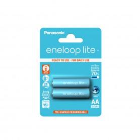 Eneloop - AA R6 Panasonic Eneloop Lite 1.2V 1000mAh Rechargeable Battery - Size AA - NK036-CB