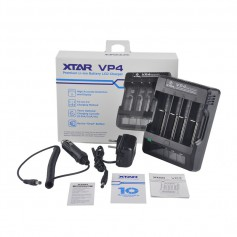 XTAR VP4 IMR Lithium battery charger EU PLug