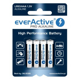 EverActive, LR03 AAA everActive Pro 4x-Blister pack, Size AAA, BL210