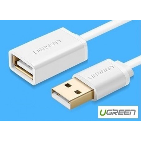 UGREEN - USB 2.0 Male to Female Extension Cable - USB to USB cables - UG077-CB www.NedRo.us