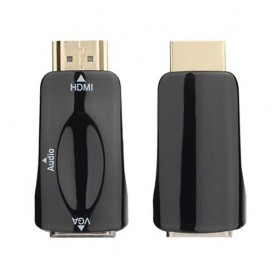 NedRo - HDMI to VGA converter adapter + audio - HDMI adapters - AL969-CB www.NedRo.us