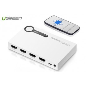 UGREEN, 3 Port HDMI Switch Switcher 1-In 3-Out Port, HDMI adapters, UG149-CB, EtronixCenter.com