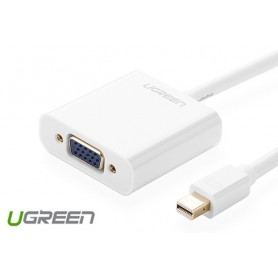 UGREEN - Mini Display Port to VGA Converter - VGA adapters - UG132-CB www.NedRo.us