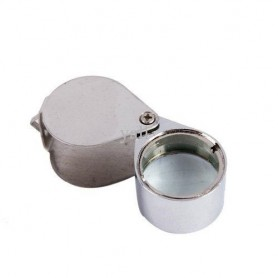 NedRo, 10x Silver Mini Jewelry Loupe Magnifier Glass, Magnifiers microscopes, AL100, EtronixCenter.com