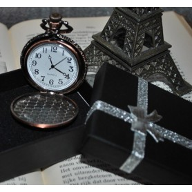 Unbranded - Paris Eiffel Tower Necklace Watch Pocket Watch ZN060 - Watch actions - ZN060 www.NedRo.us