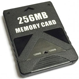 NedRo - Memory Card for Playstation 2 - PlayStation 2 - YGF001-CB www.NedRo.us