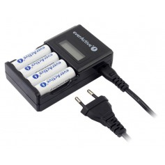 EverActive - AA AAA everActive NC-450 4 channel charger - Battery chargers - BL219