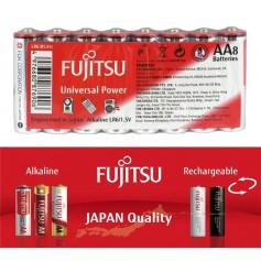 Fujitsu, Fujitsu Universal Power Alkaline LR6 AA, Size AA, BL222-CB