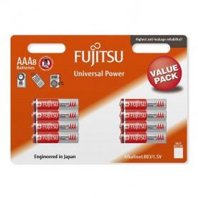 Fujitsu, 8-Pack Fujitsu Universal Power LR03 AAA, Size AAA, BL225