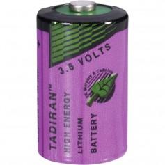 Tadiran SL-750 / 1/2 AA lithium battery 3.6V
