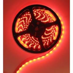 Red 12V LED Strip 60LED IP65 SMD3528