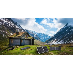 PowerOak - S100 PowerOak Portable Solar Panel 100W/18V - Solar Panels - S100