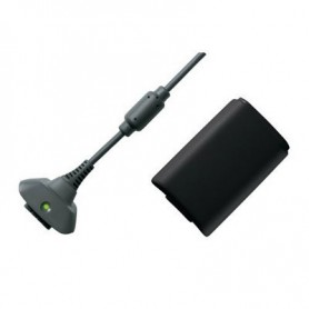 NedRo - Play & Charger USB Cable + Battery for XBOX 360 - Xbox 360 cables & batteries - YGX520-CB www.NedRo.us