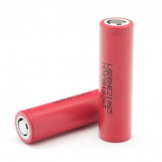 LG IMR18650-HE2 18650 2500mAh - 20A Rechargeable battery