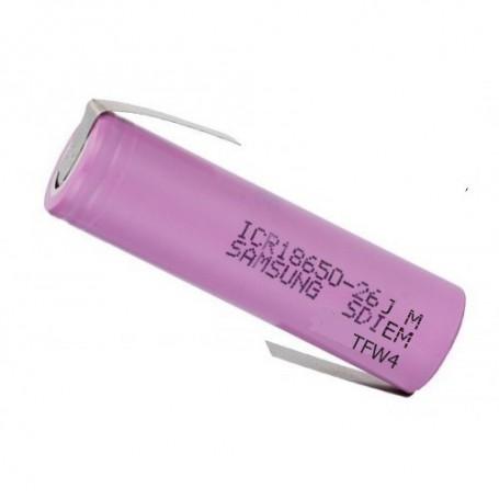 Samsung - 18650 Samsung ICR18650-26J 5.2A 2600mAh - Size 18650 - NK044-CB