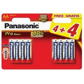 Panasonic - Panasonic Alkaline PRO Power LR6/AA - Size AA - BL042-CB www.NedRo.us
