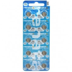 Renata - Renata 395 / SR 927 SW / G7 Low Drain watch battery - Button cells - BL205-CB
