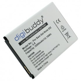 OTB, Battery for Samsung Galaxy Note 3 GT-N9005, Samsung phone batteries, ON600-CB, EtronixCenter.com
