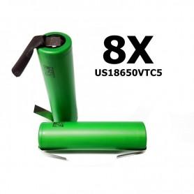 Sony - Sony Konion US18650VTC5 2600mAh 30A 18650 - Size 18650 - BL005-CB www.NedRo.us
