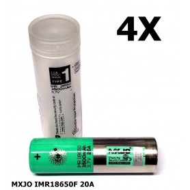 MXJO, MXJO IMR18650F 20A, Size 18650, NK162-CB, EtronixCenter.com