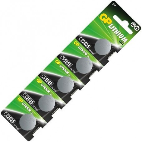 GP - GP CR2025 3v lithium button cell battery - Button cells - NK221-CB
