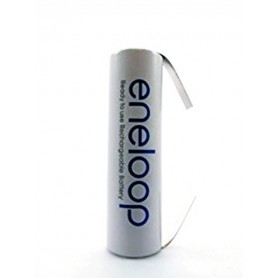Eneloop, Panasonic Eneloop AA HR6 R6 battery with U tags, Size AA, NK010-CB, EtronixCenter.com
