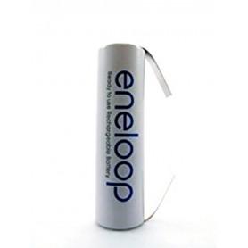 Eneloop, Panasonic Eneloop AA HR6 R6 battery with U tags, Size AA, NK010-CB